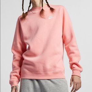 ✨NWOT✨ NikeLab Fleece Crewneck (Peach)